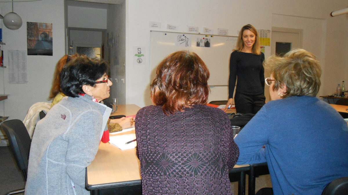 Teaching practice at TEFL Toulouse
